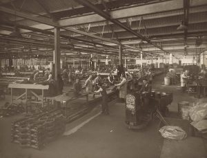 photo of an old factory